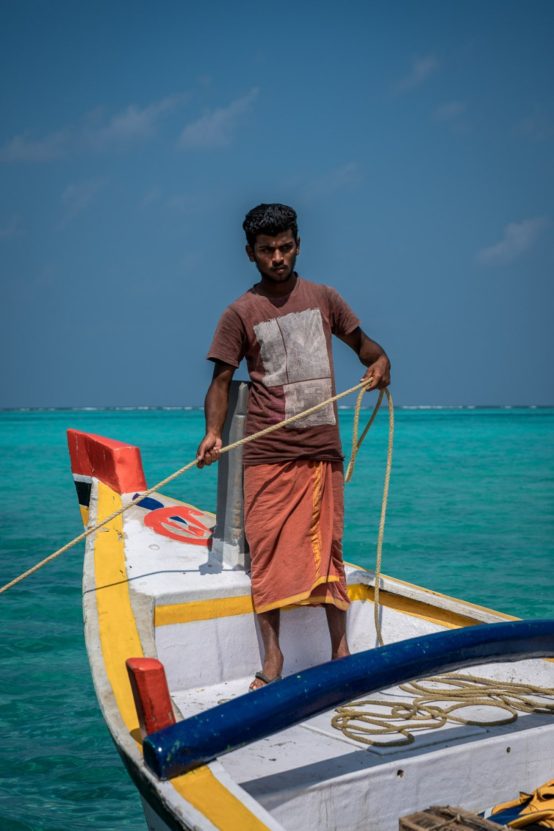 Fishing Boat, Agatti, Lakshadweep, India.
