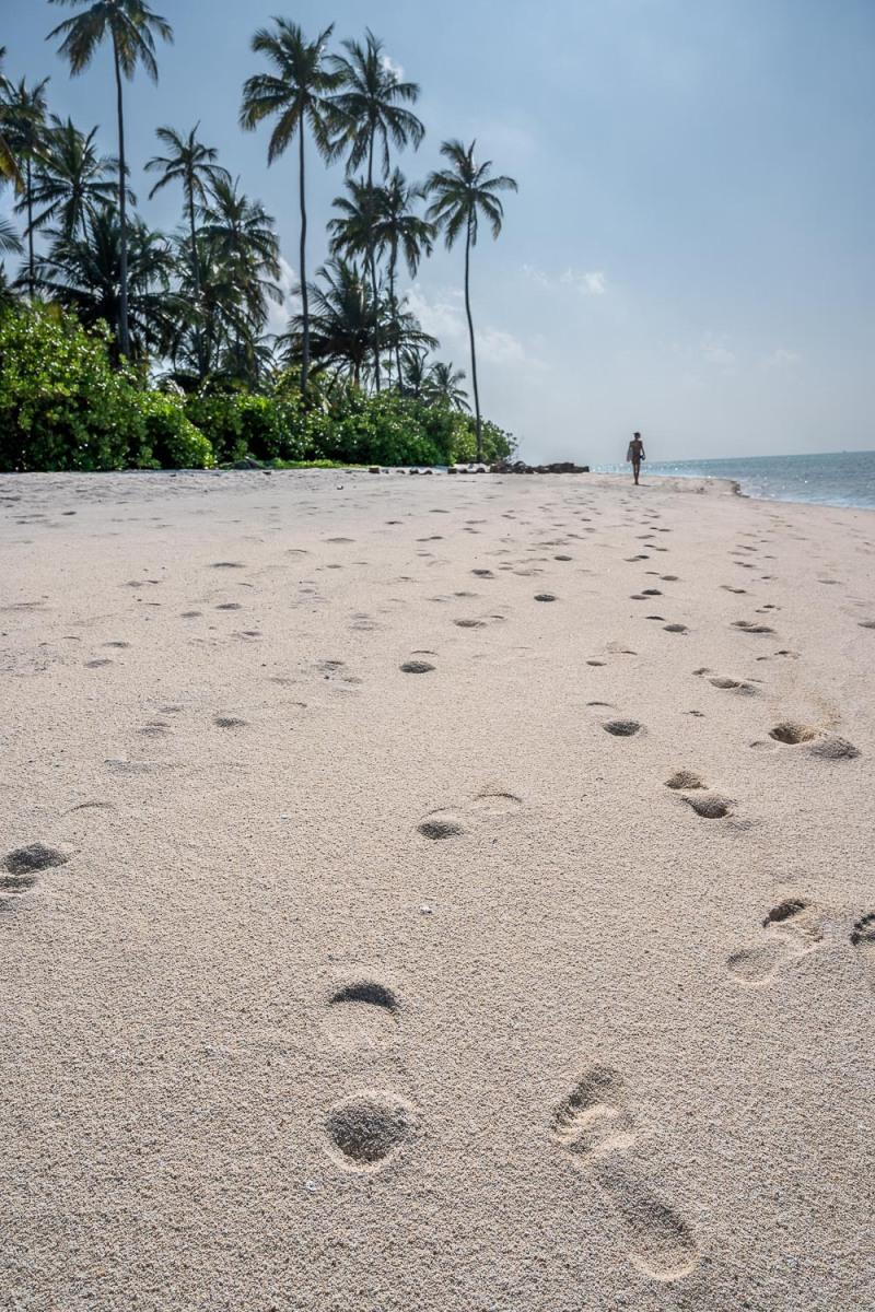 Beach, Bangaram, Lakshadweep, India.