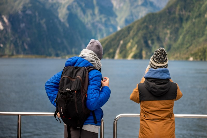 Into the wild, Milford Sound, New Zealand.