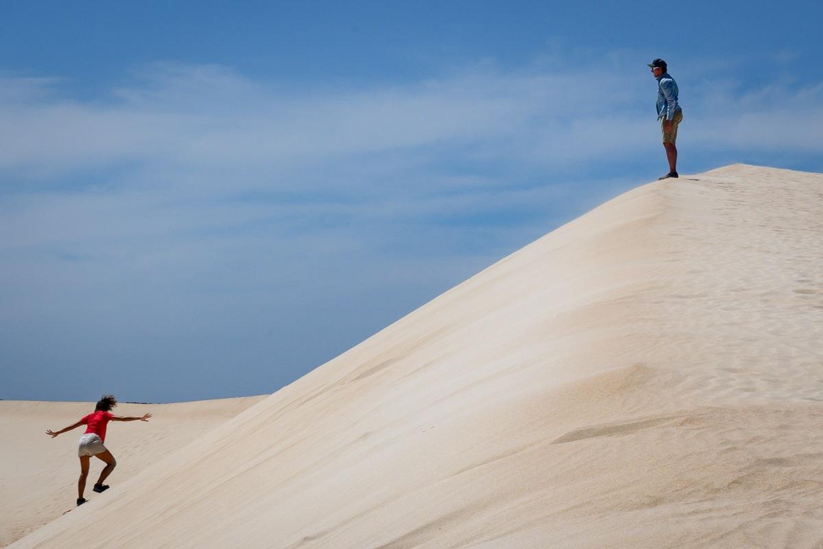 Little Sahara, Kangaroo Island, Australia.