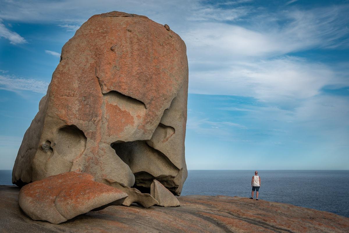 Remarkable Rocks, Kangaroo Island, Australia.
