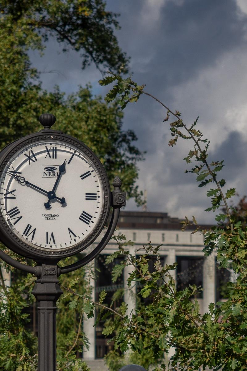 Where time stood still, Minsk, Belarus.