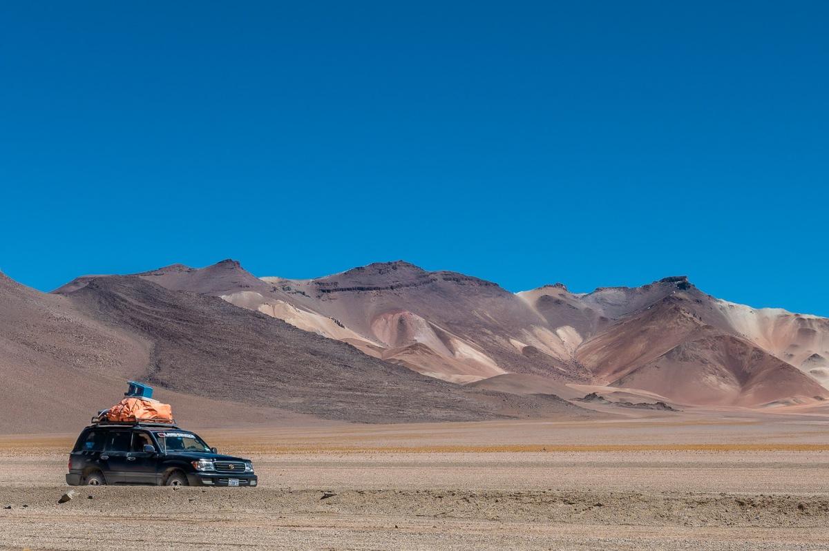 Salvador Dalí Desert, Eduardo Avaroa National Reserve, Bolivia.