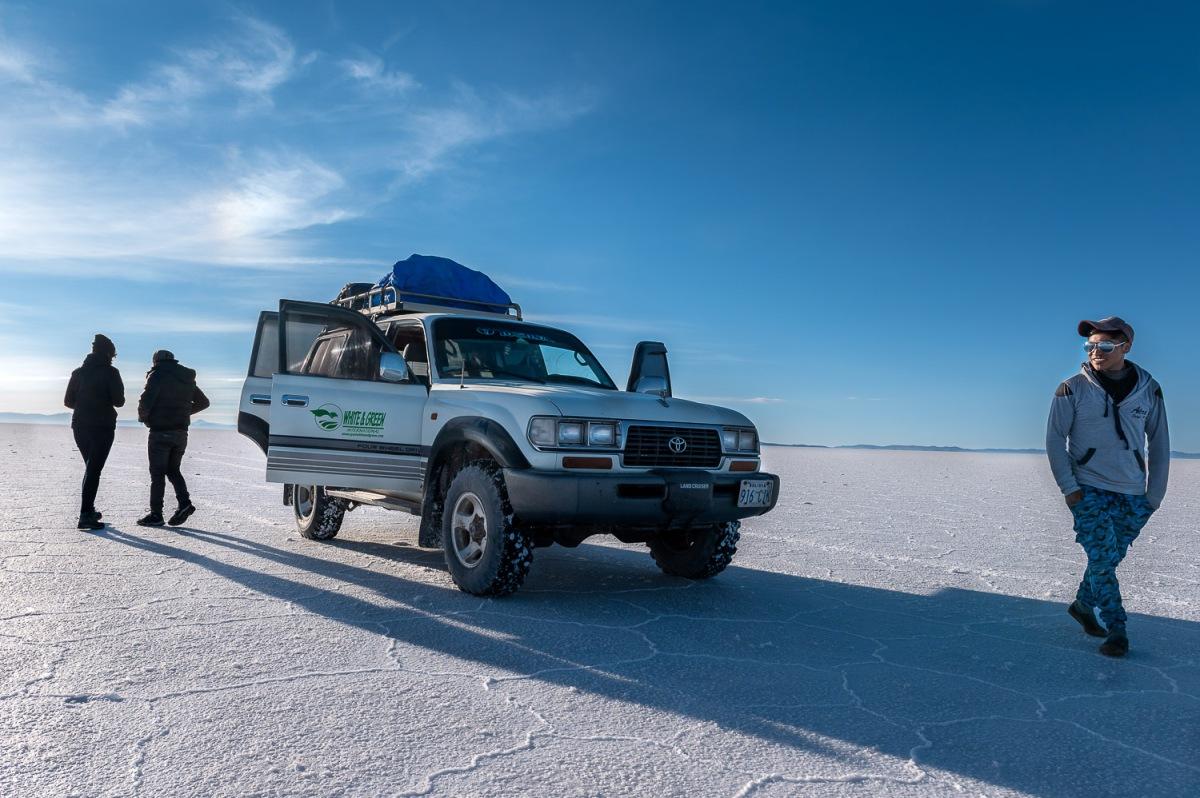 Camp site, Salar de Uyuni, Bolivia.