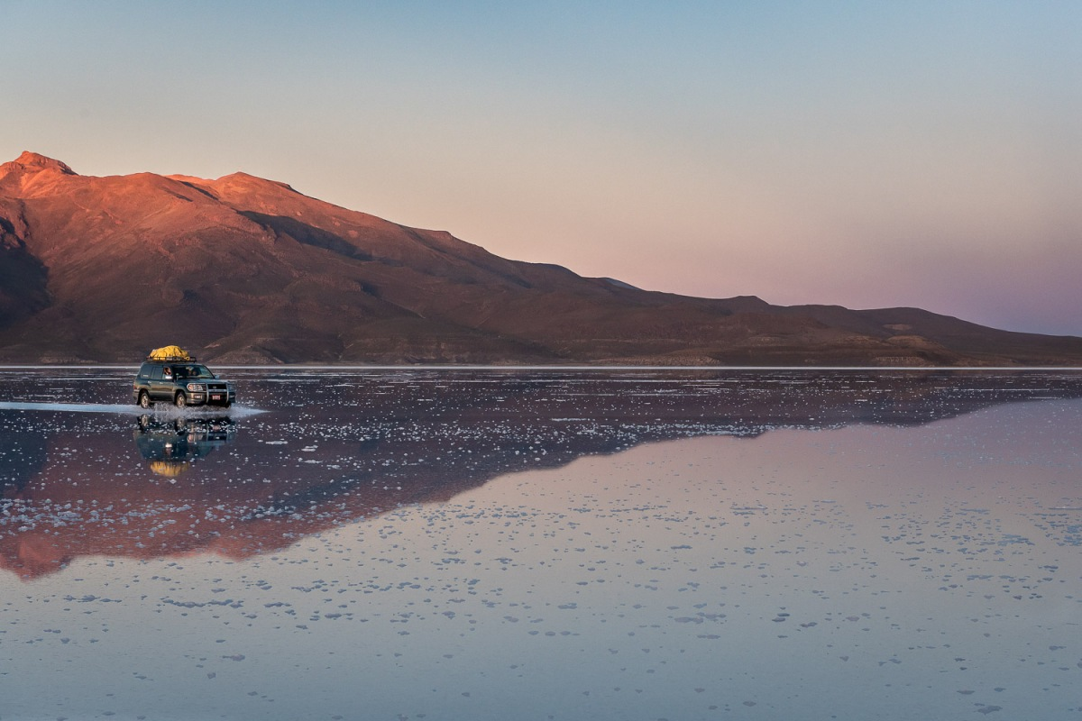Salar de Uyuni, Uyuni, Bolivia.