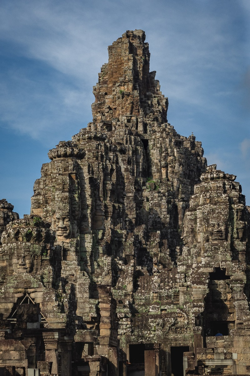 Main temple of Angkor Thom, Angkor, Cambodia.