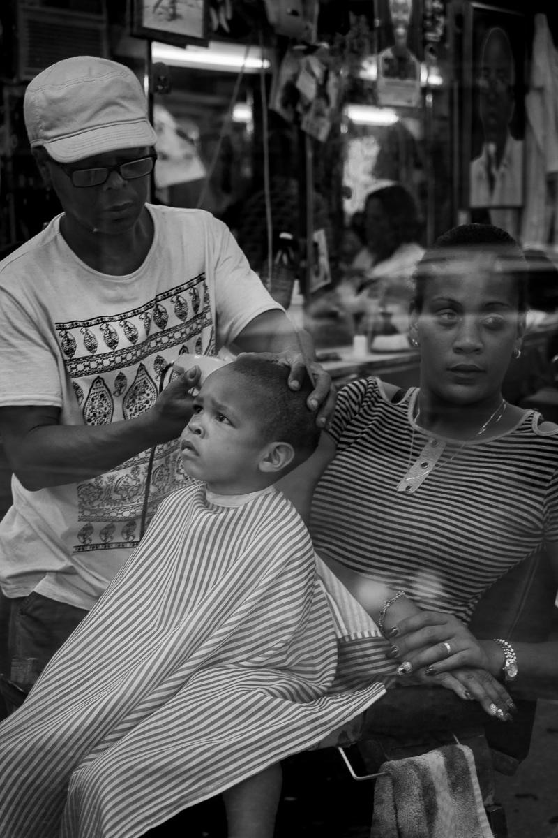 Barber shop, Havana, Cuba.