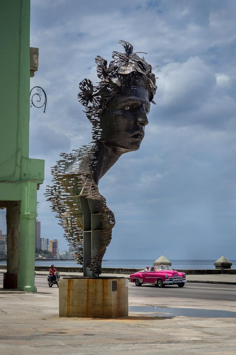 Primavera Monument, Havana, Cuba.