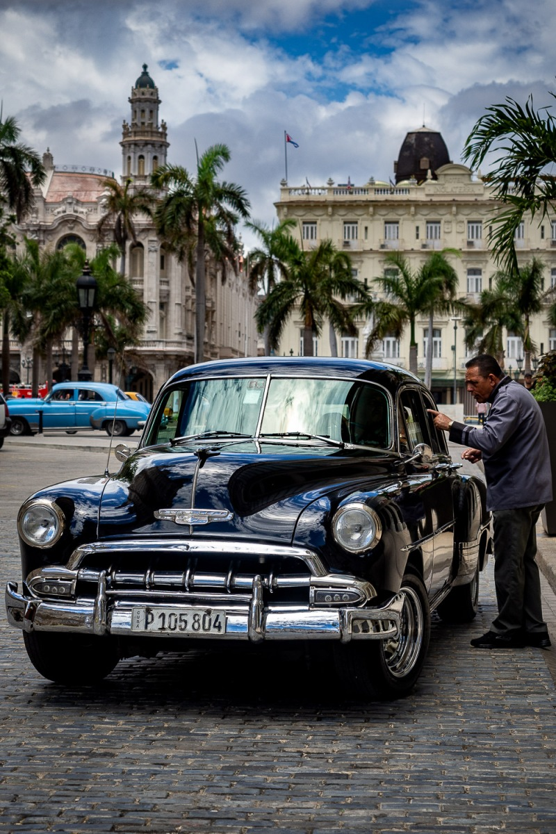 Concierge service, Mazana hotel, Havana, Cuba.