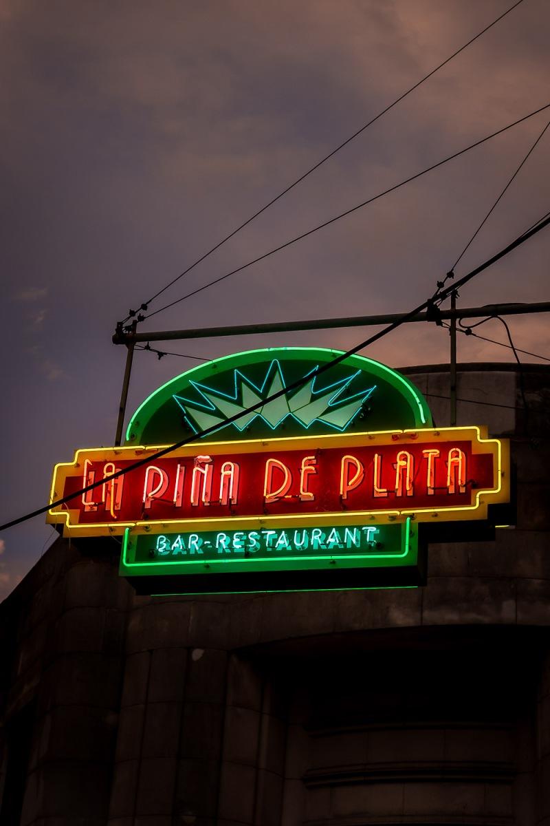 La Pina de Plata, Havana, Cuba.