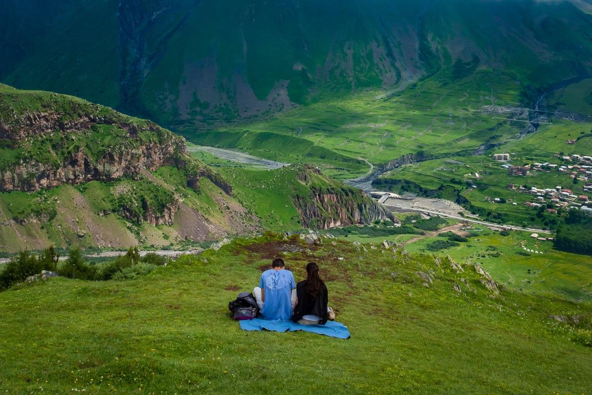 Kazbegi mountains, Georgia.