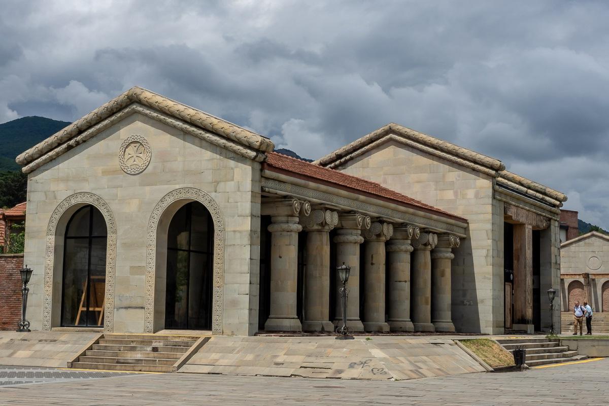 City square, Mtshketa, Georgia.