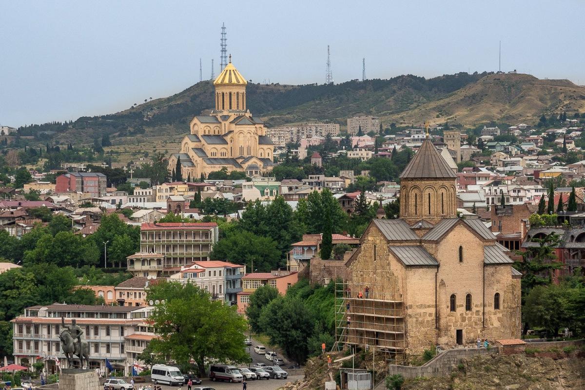 Old town, Tbilisi, Georgia.