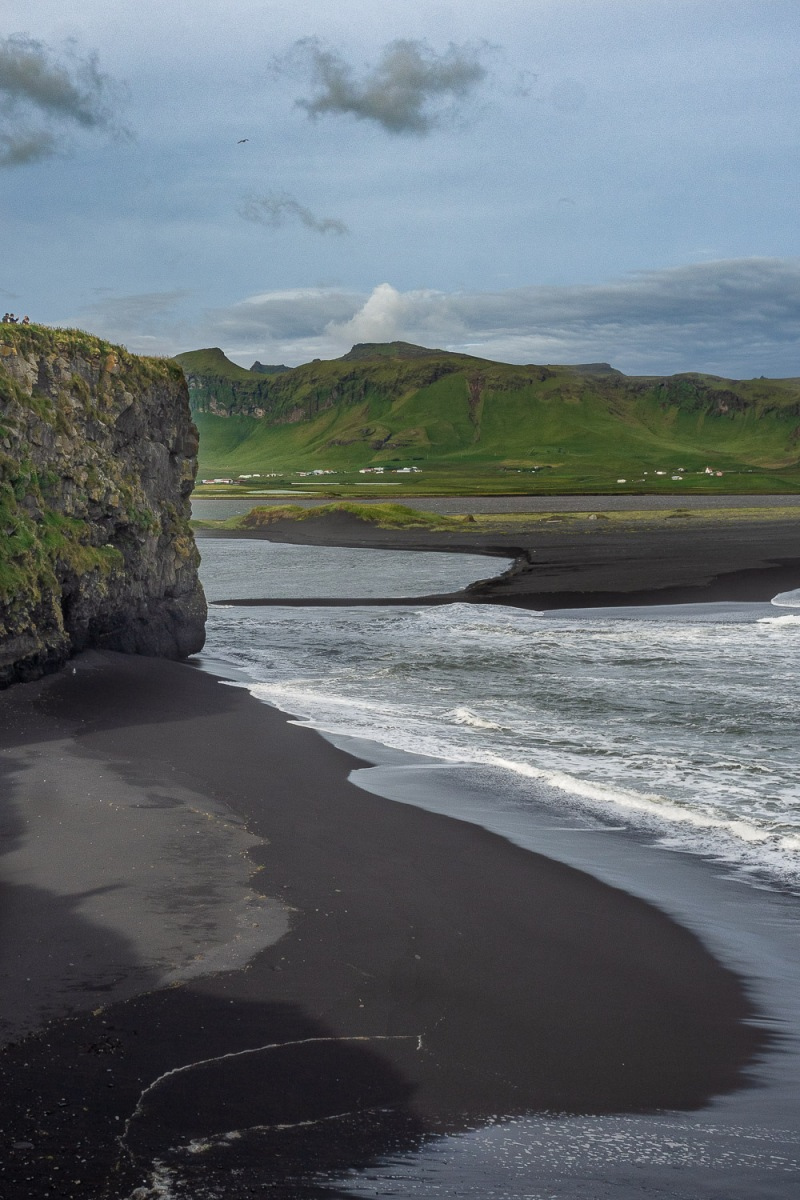 Black beach, Reynisfjara, Iceland.