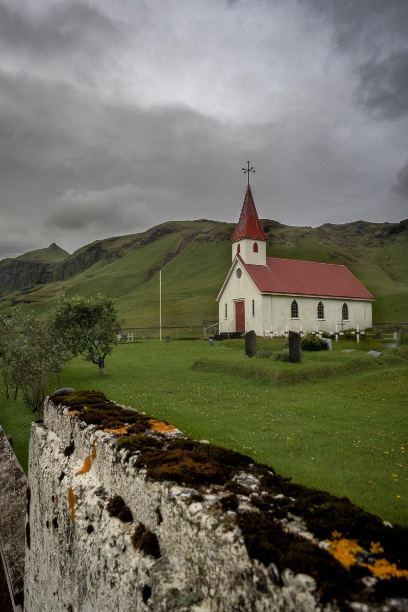 Reyniskirkja church, Reynisfjara, Iceland.