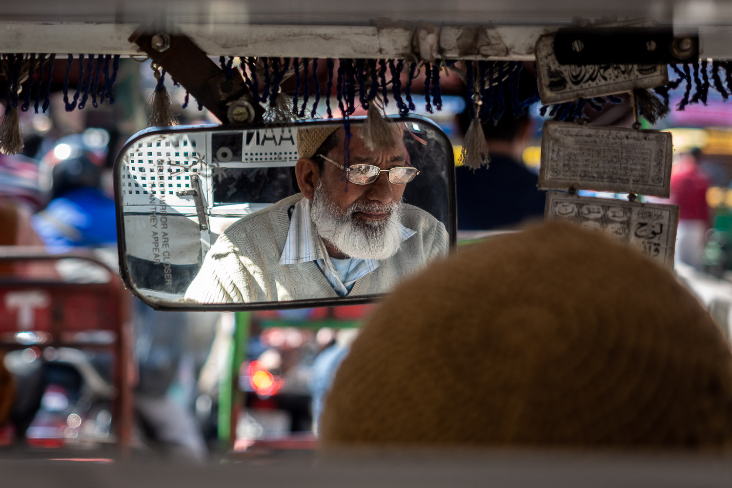 Tuk-tuk, Old Delhi, India.