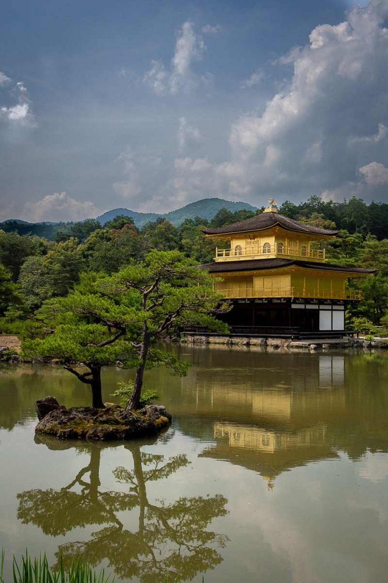 Kinkaku-ji, the Golden Pavilion, Kyoto, Japan.