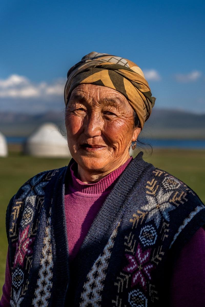 Song-Kul Lake, Kyrgyzstan.