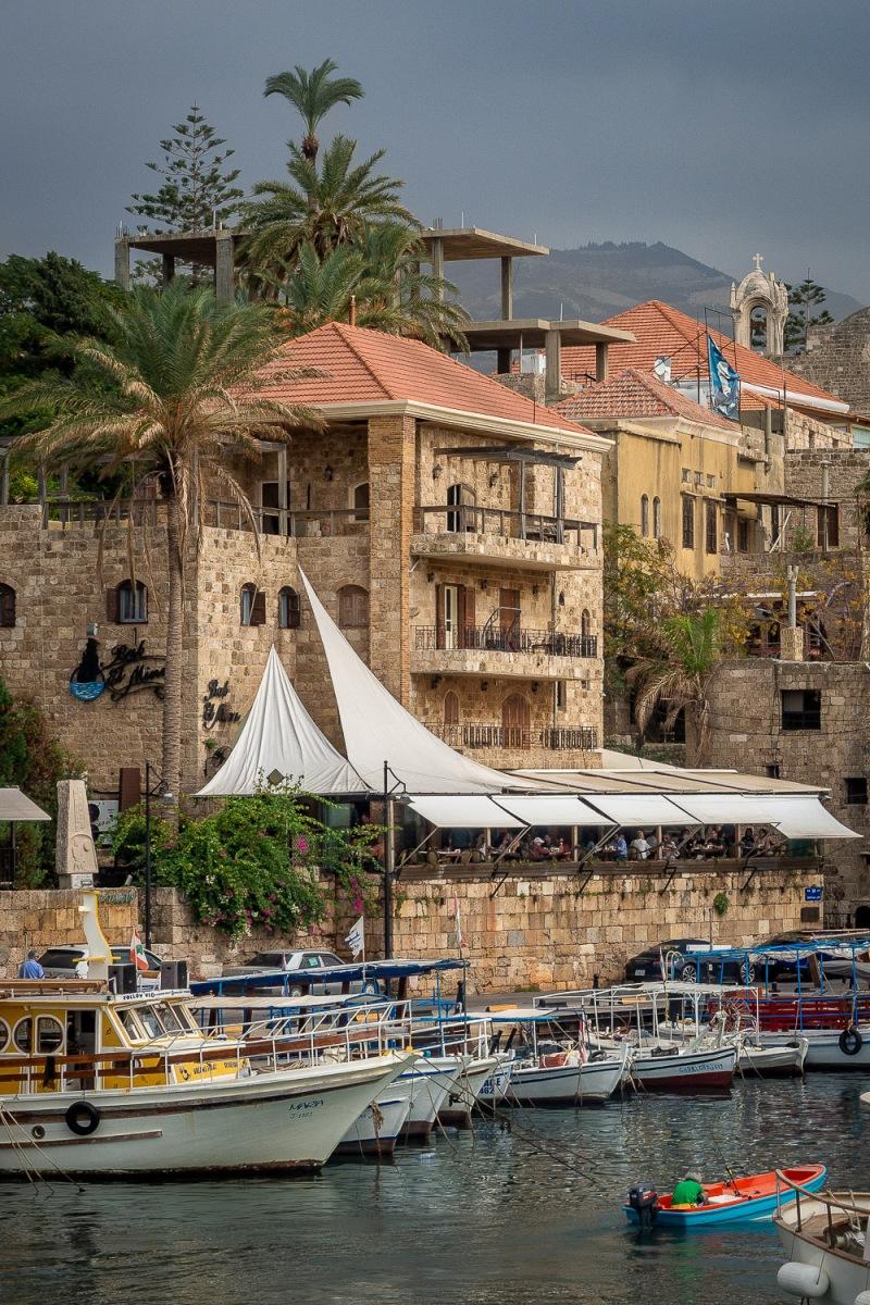 Old port of Byblos, Beirut, Lebanon.