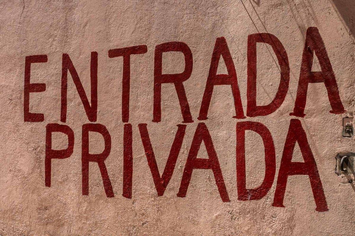 Entrada Privada, Mexico City.