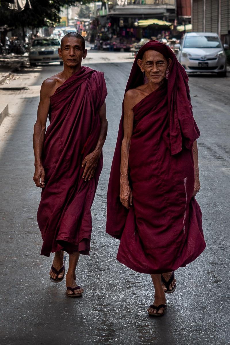 Monks, Mandalay, Myanmar.