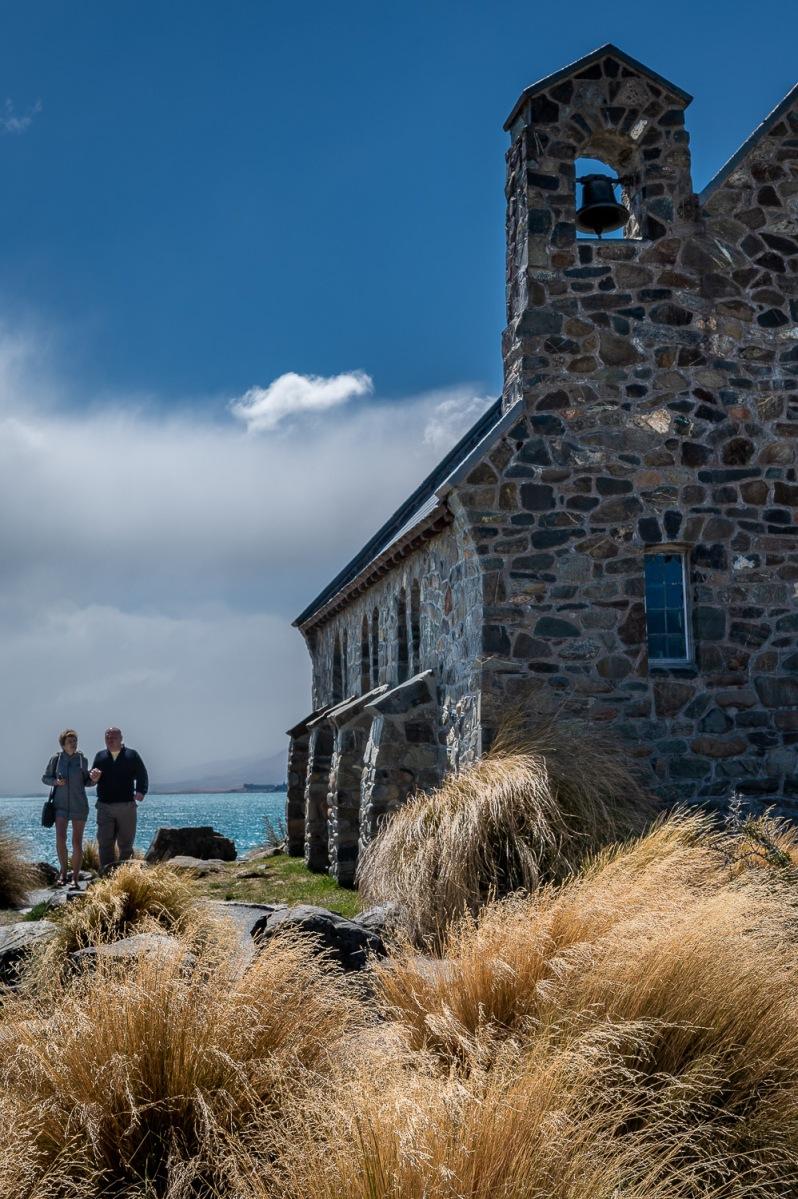 Church of the Good Shepard at Lake Tekapo, Canterbury, New Zealand.