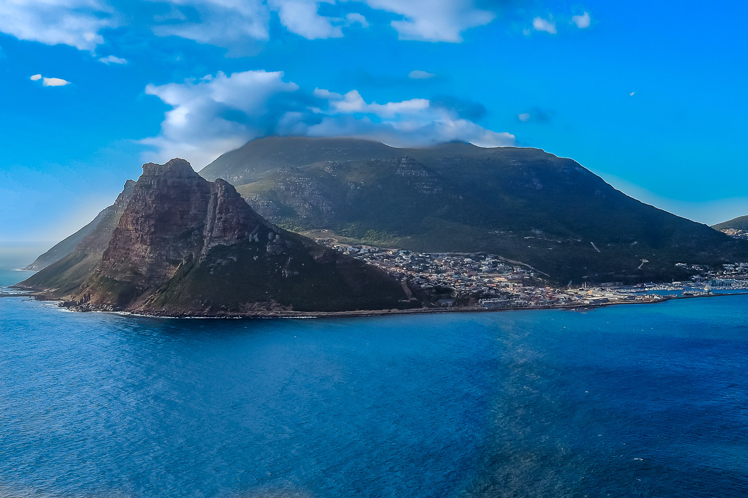 View at Chapman's Peak, South Africa.