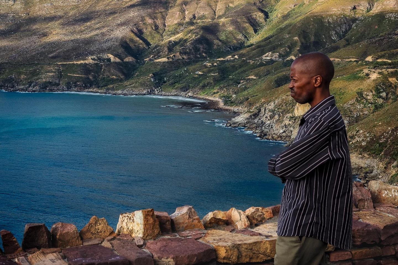 Mesmerizing scenery at Chapman's Peak, South Africa.