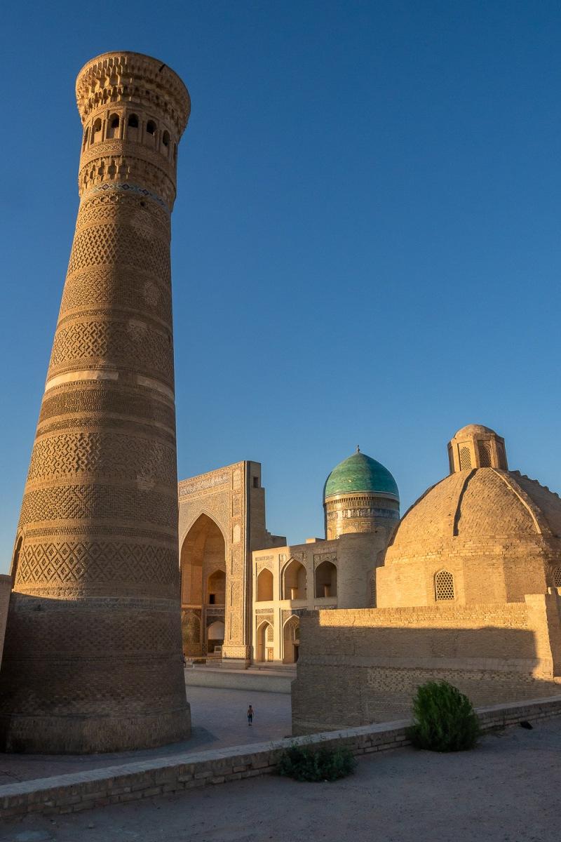 Registan Square, Bukhara, Uzbekistan.