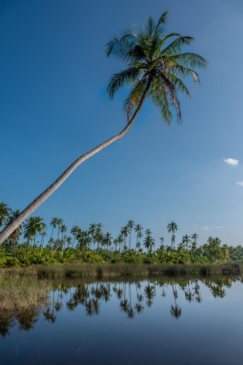 Lake lagoon, Bangaram, Lakshadweep, India.