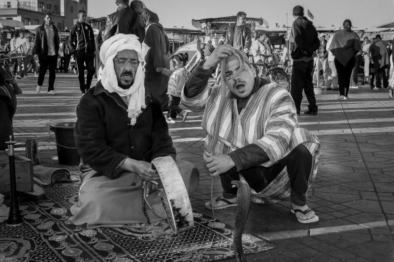 Djema El-Fna, Marrakech, Morocco.