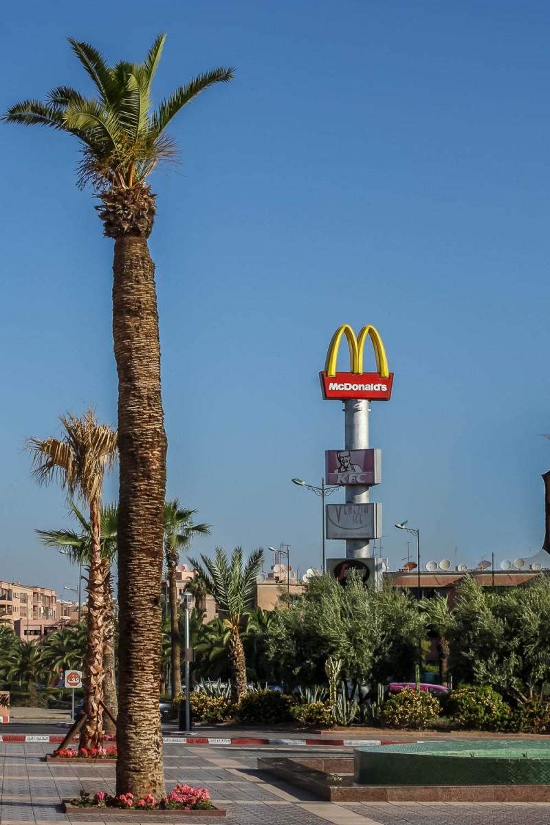 McDonalds, Marrakech, Morocco.
