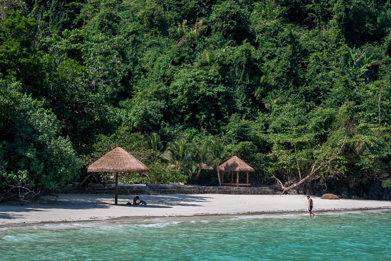 Beach in Mergui Archipelago, Myanmar.