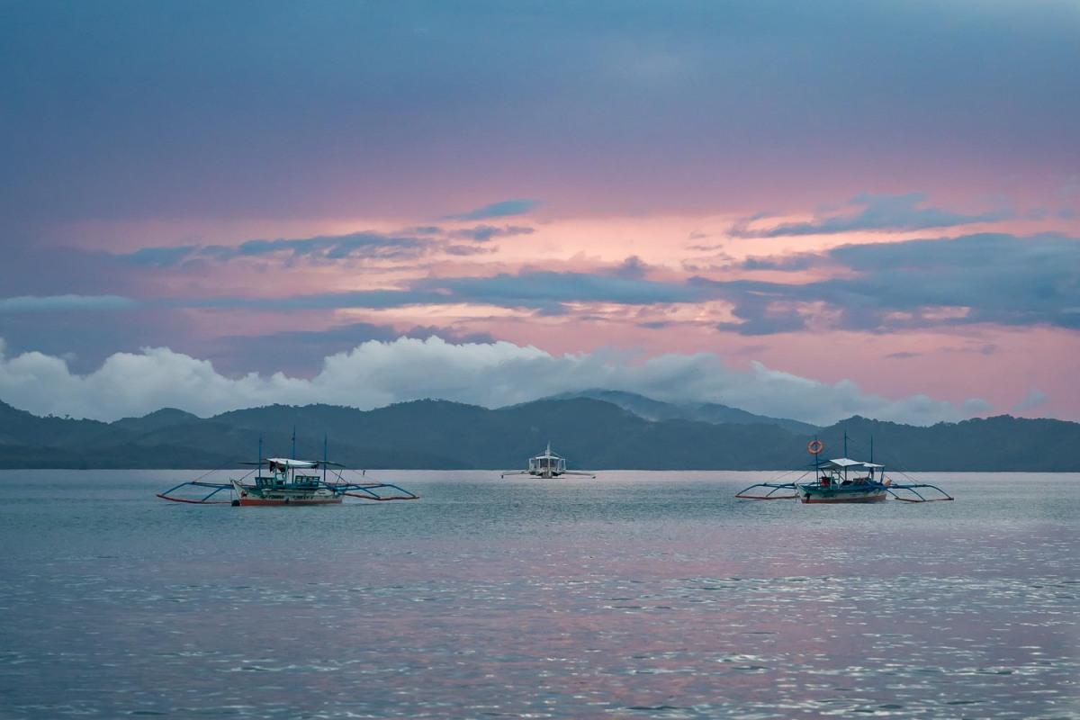 Port Barton, Palawan, the Philippines.