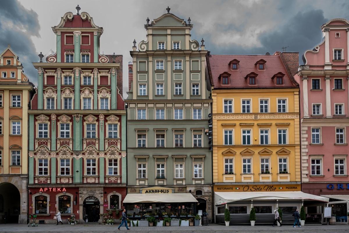 Old Town, Wrocław, Poland.