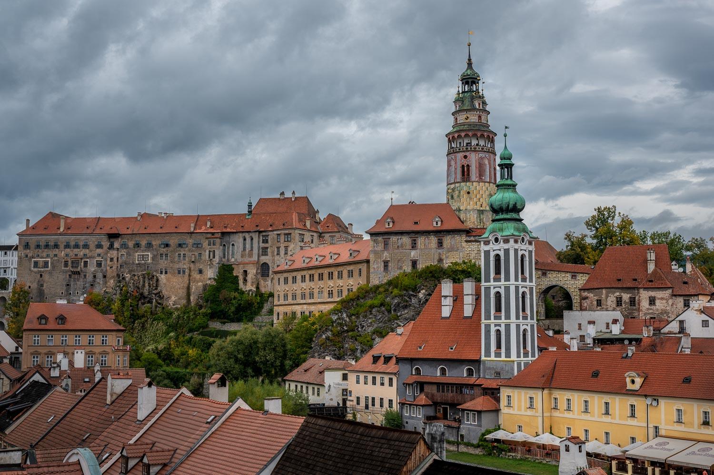 Schwarzenberg Palace in Cesky-Krumlov, Czech Republic.