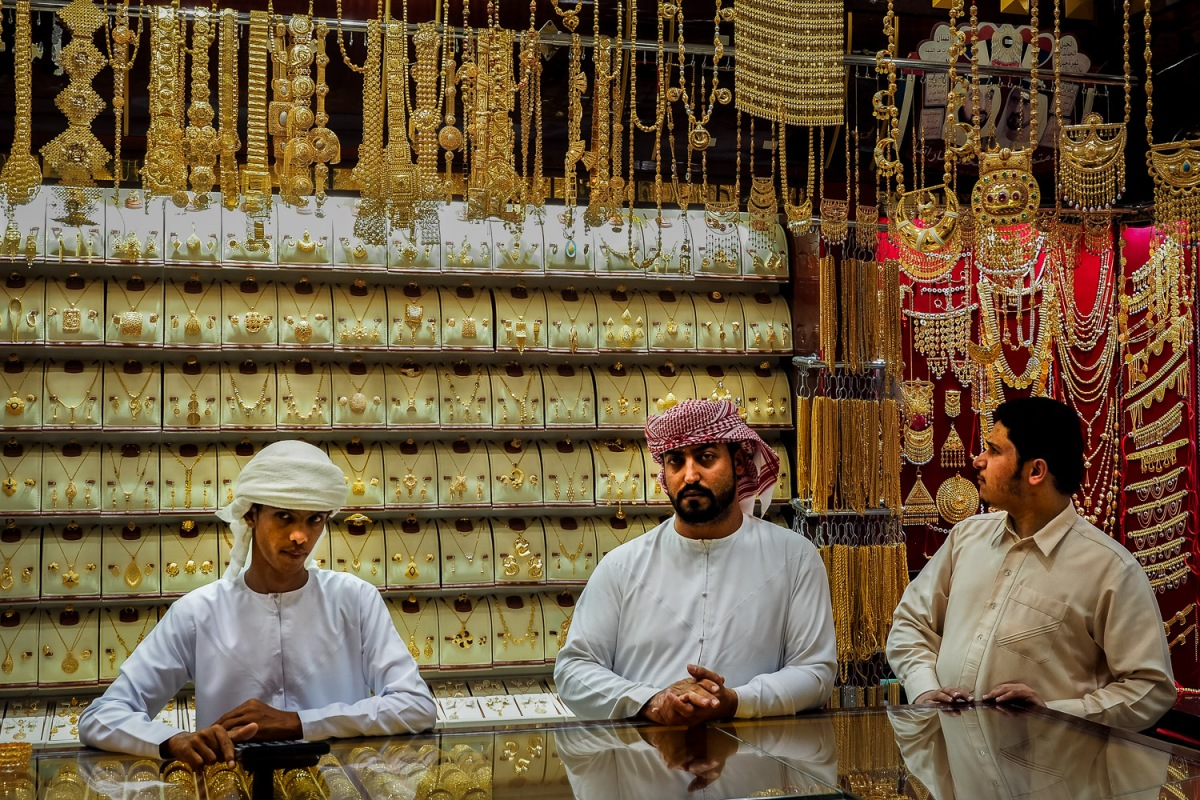 Gold Souk, Deira, United Arab Emirates.