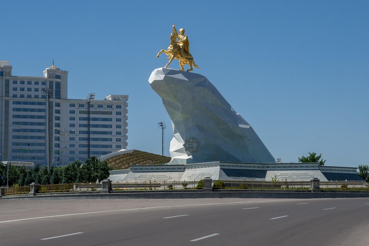 Ashgabat, Turkmenistan.