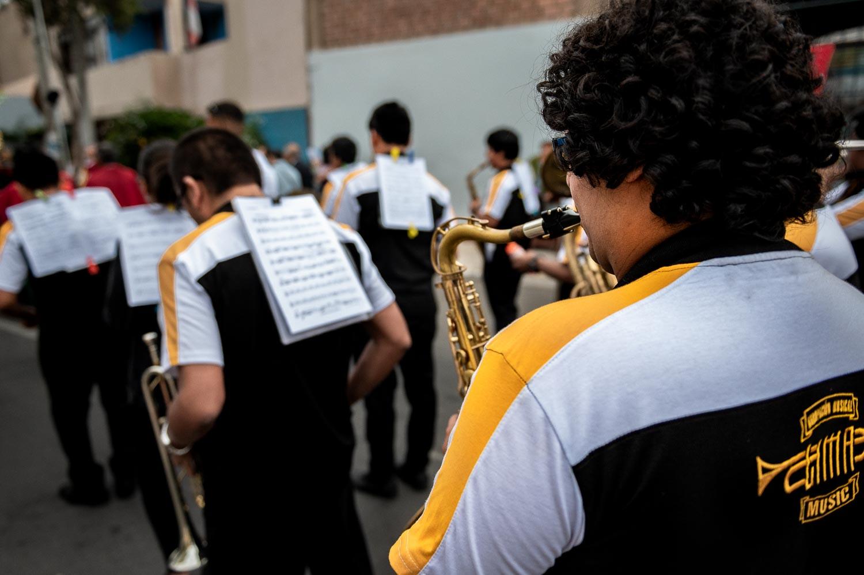 Local jazz festival, Lima, Peru.