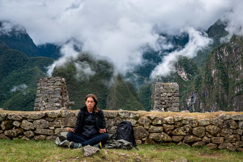 Finding yourself, Urubamba, Peru.