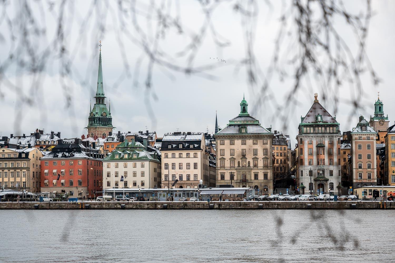 Winter wonderland, Stockholm, Sweden.
