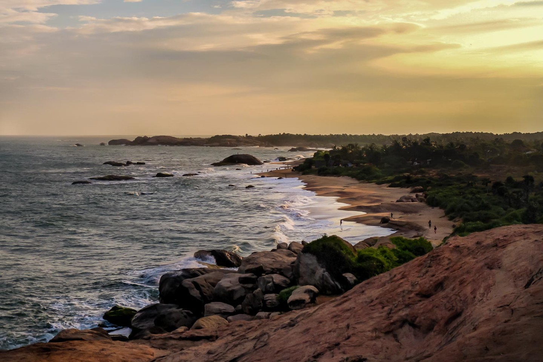 The lost beach, Kirinda, Sri Lanka.
